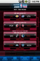 NBA Game Time First Round Playoffs - West