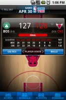 NBA Game Time Game Score Details