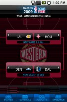 NBA Game Time West Semi-Conference Finals Bracket
