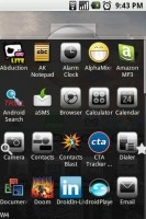 Open Home App Drawer Open