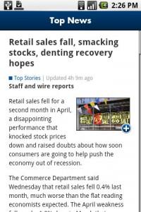 USA TODAY News Article