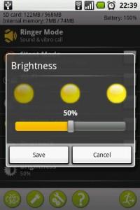 Useful Switchers Toggle Screen Brightness Settings
