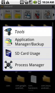 Astro File Manager Tools