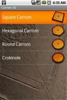 Carrom 3D Choose Game Shape