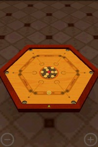 Carrom 3D in Game Play