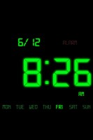 Kaloer Clock Green Theme