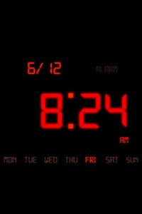 Kaloer Clock Red Theme