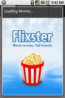 Movies by Flixster Splash Screen