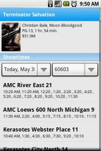 Movies by Flixster get Showtimes for Movie