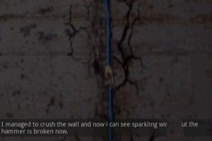 Mystique. Chapter 1: Foetus - Cracked Wall