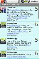 TwitterRide Favorite Tweets