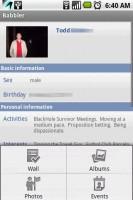 Babbler for Facebook Friends Details