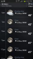 Beautiful Widgets 7 Day Forecast