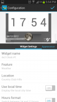 Beautiful Widgets Configuration Settings
