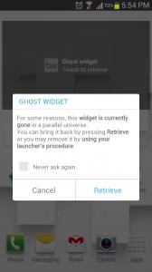 Beautiful Widgets Ghost Widget