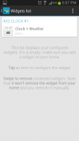 Beautiful Widgets List