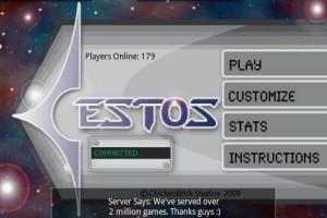 Cestos Start Screen