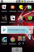CuTewit Micro Widget on Home Screen