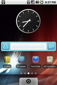 FreshFace Home Screen