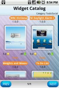 FreshFace Widget Catalog