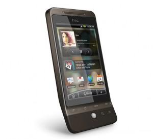 HTC Hero Angled View