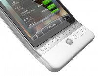 HTC Hero Button Closeup