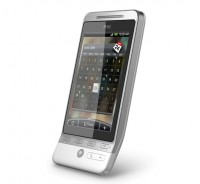 HTC Hero in White Calendar App