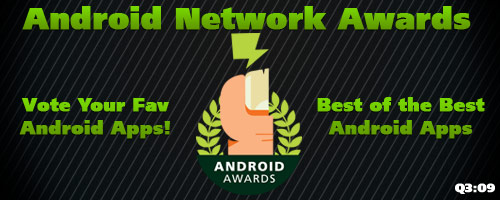 Vote Fav Apps in Android Network Awards!