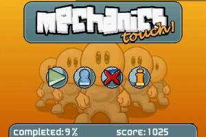Mechanics Touch Start Screen