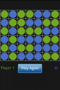 Connect 4 Online in Game Play (Draw)