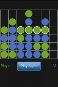 Connect 4 Online in Game Play (Win)