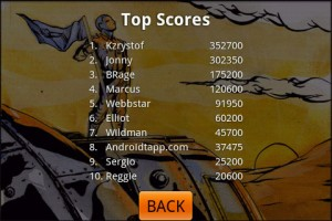 Defender of Sling City Top Scores