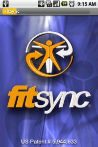 FitSync Splash Screen
