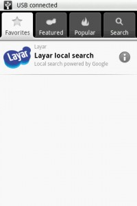 Layar Favorites