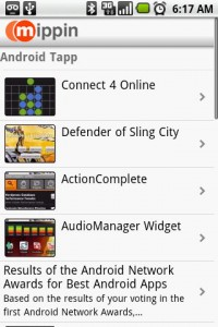 Mippin My Sites List of Content (AndroidTapp.com)