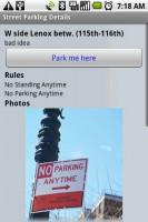 Primo Spot Parking Spot Details