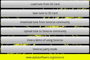 Sonorox Community Options