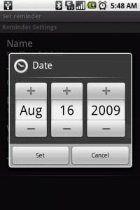 Voice It Set Date