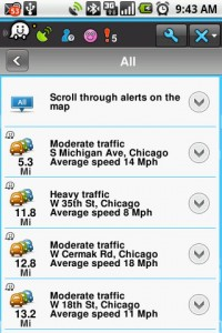 Waze Live Info Events
