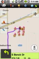 Waze Navigation (Taking Longer Route)