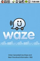 Waze Start Screen