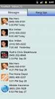 YouMail Visual Voicemail Plus Message List