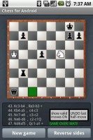 Chess for Android Check Mate