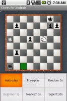 Chess for Android Menu Options