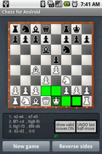 Chess for Android (Suggestive Moves)