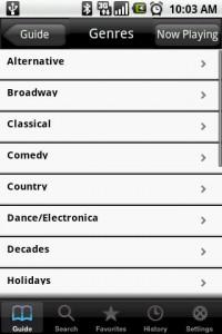 FlyCast Genres