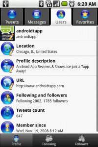I Tweet My Profile