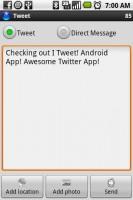I Tweet Posting Tweet