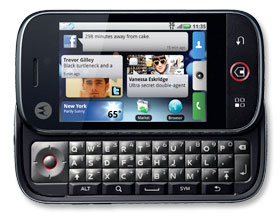 Motorola Cliq Android Phone Debuts at GigaOm Mobilize 09