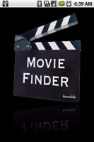 Movie Finder Start Screen